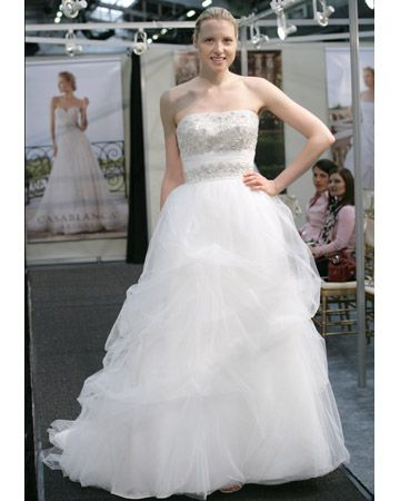 Wedding Dress styles of 2012 - casablanca, spring 2012