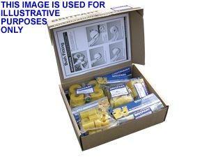 Britpart Yellow Polyurethane Bush kit inc. shock abs bushes - SWB