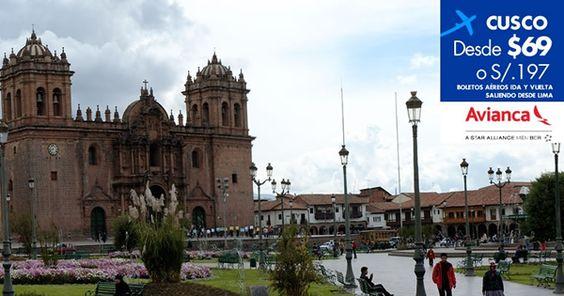 #CyberMami. Oferta a #Cusco con #Avianca. Regulaciones y compras en http://landing.costamar.com/Vuelos/Lima/Cuzco