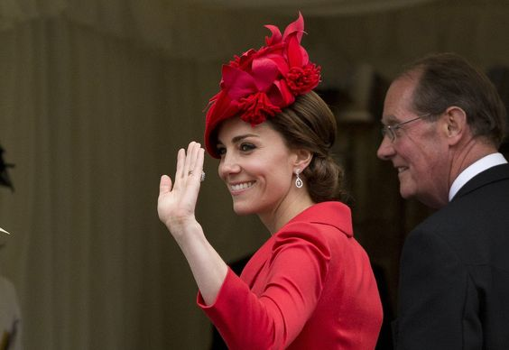 Kate Middleton Just Hopped Out of the Car in 1 Red-Hot Summer Look