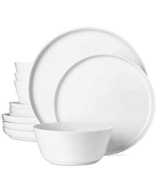 The Cellarmodern Coupe 12 Pc Dinnerware Set Dinnerware Set Modern Tableware Design Luxury Tableware