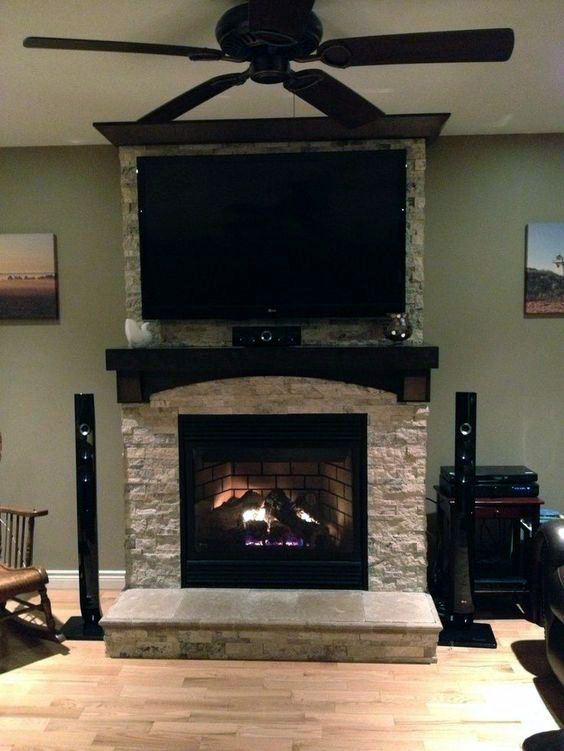 Excellent Tv Over Fireplace Distance On This Favorite Site Home Fireplace Tv Above Fireplace Fireplace Remodel