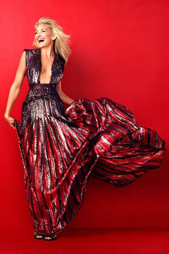 Kate Hudson in Harper's Bazaar