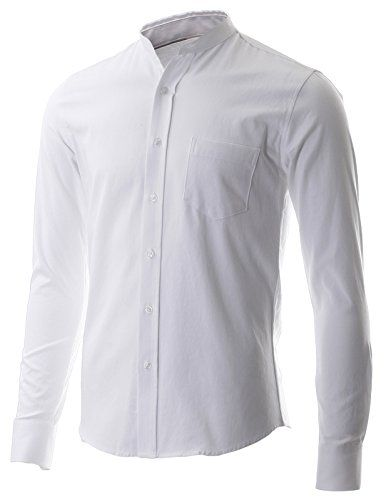 White Button Down Shirt Men