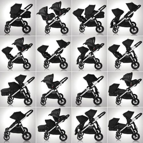 City Select is the top rated double# stroller out there. It's the ...