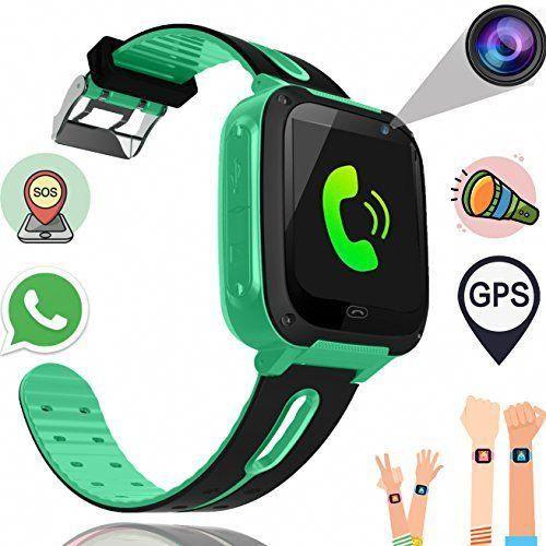 Kids Smart Watch Phone For Boys Girls With Gps Tracker Synmila Smart Wrist Watch Phone With Sim Fitness Trackers With Ca Wearable Phone Smart Watch Gps Tracker