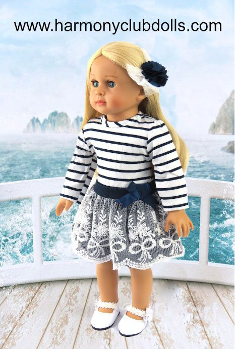 "www.harmonyclubdolls.com HARMONY CLUB DOLLS. 600+ STYLES, doll clothes, doll shoes for 18"" dolls the size of American Girl Dolls:"