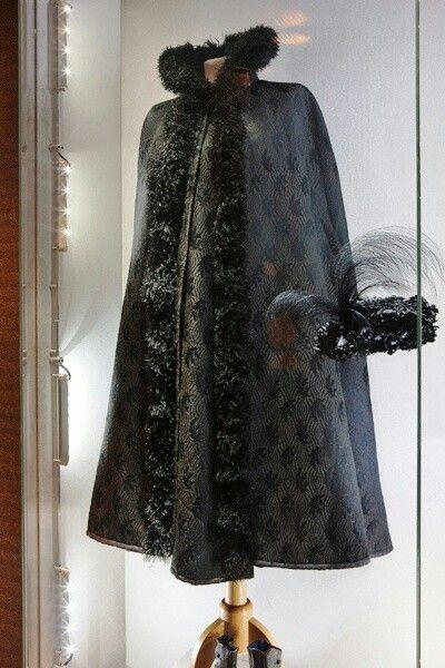 Empress Elisabeth winter cape
