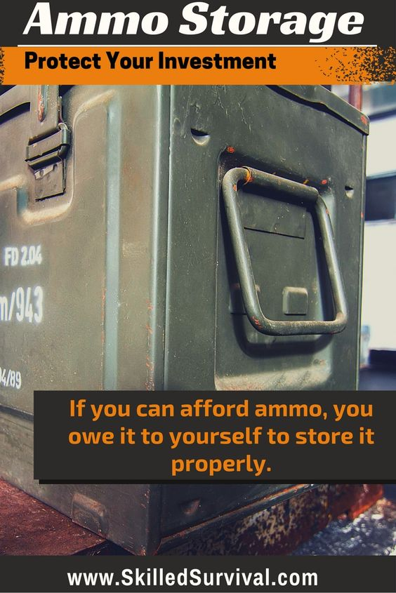 Ammo Storage; Are you protecting your ammo? Are you treating it like the key survival investment it is? I sure hope so because…If you can afford ammo, you owe it to yourself to store it properly.