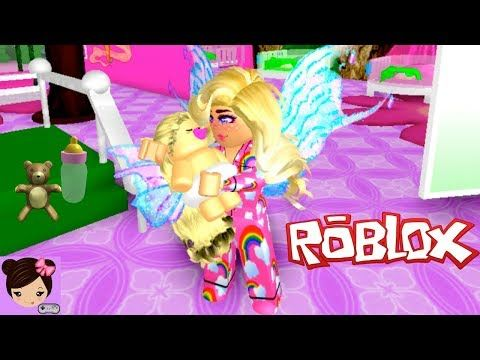 Adopting A Baby Fairy In Roblox Enchantix High Roleplay Titi