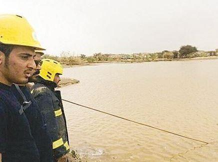 """وفاة 4 صبية غرقاً في وادي """"أبو القعايد"""" بجازان - http://bit.ly/1lstSCU"""