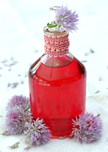 Got chive blossoms? Make this pretty and flavorful vinegar with minimal effort.