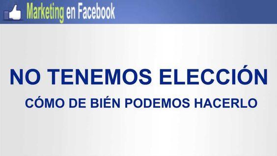 Marketin en Facebook es un manual completo para conseguir popularidad, posicionamiento y más Me Gusta en Facebook.  http://www.negocioseninternetrentables.com/curso-tutorial-facebook/   Impulsa tu negocios y página de Facebool con Marketin En Facebook.