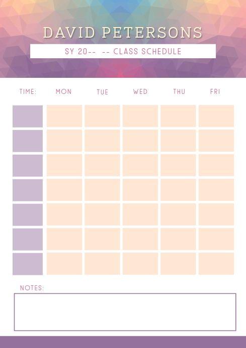 Modern Teacher S Weekly Planner Template Weekly Planner Template School Timetable Education Poster