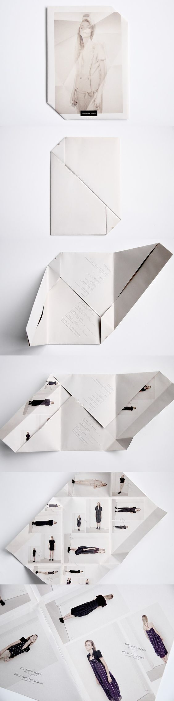 """I need to start experimenting with folding technique's like this.   Could turn an inexpensive 8.5x11"""" piece into something super unique."""