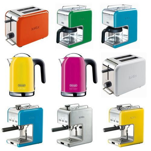 this collection from DeLonghi kMix makes me want to cook