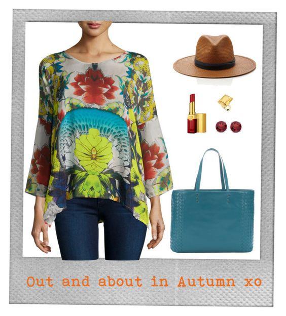 """Out and about in Autumn x o (plus size)"" by maryscott-curvy on Polyvore featuring Polaroid, StyleRocks, BillyTheTree, Bottega Veneta, Estée Lauder, Janessa Leone and plus size clothing"
