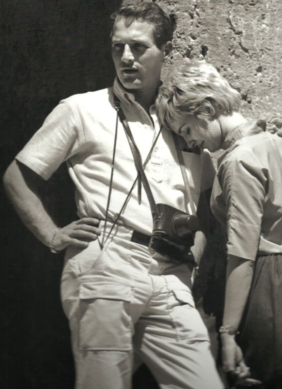 Joanne Woodward And Paul Newman For When I Find My True