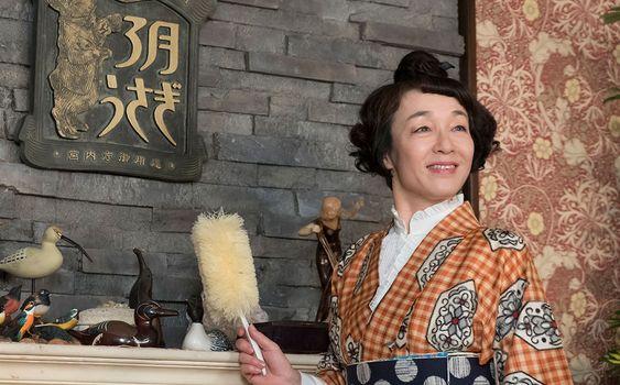 NHK連続テレビ小説『半分、青い。』でのキムラ緑子の画像