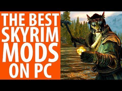 The 100 best Skyrim mods