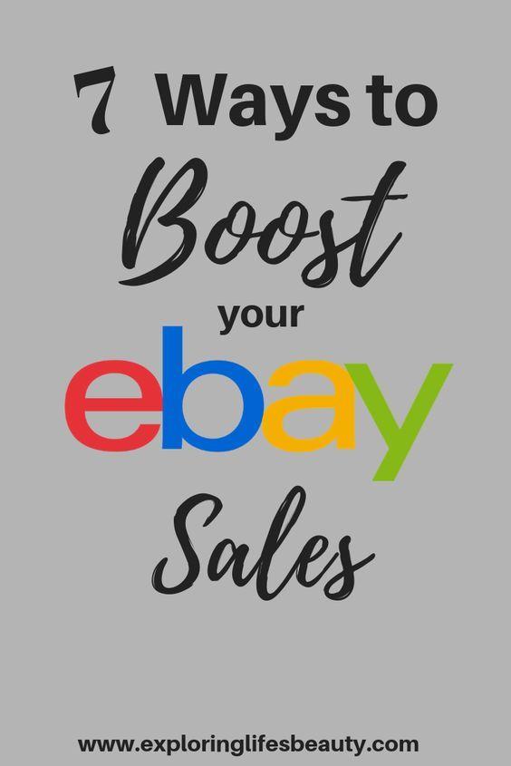 Increase Ebay Sales In 2020 Ebay Selling Tips Ebay Business Ebay Selling Clothes