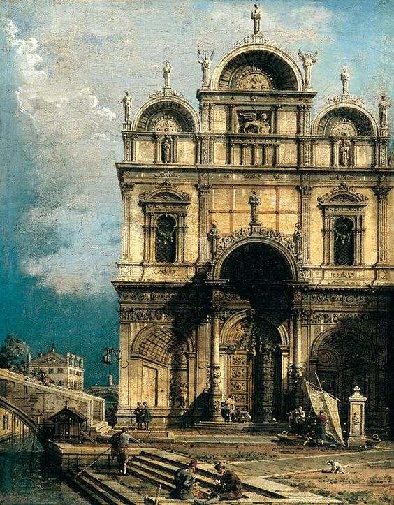 Canaletto, Venetian, 1697 - 1768 (Thyssen Museum)