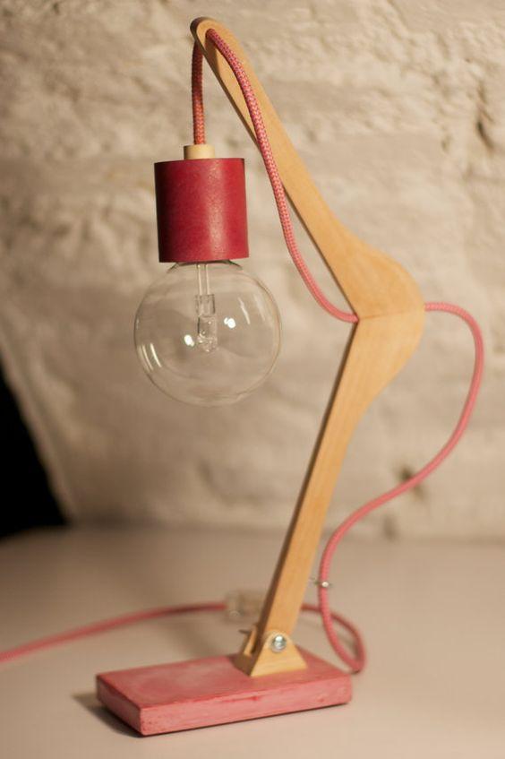 lampade-abatjour design, lampade di legno, lampade stampella ...