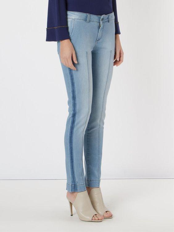 Spezzato Calça jeans skinny
