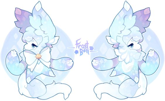 [Nubeiru] Frost Bell Auction - Closed by pairoe.deviantart.com on @DeviantArt