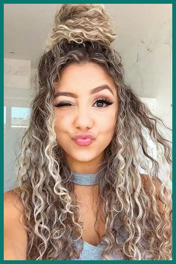 Hairstyles For Curly Hair Natural Easy In 2020 Curly Hair Styles Naturally Curly Hair Styles Curly Hair Photos