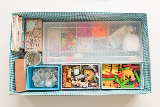 DIY Spiele Kiste für das Wohnmobil für den Camping Urlaub mit Kindern
