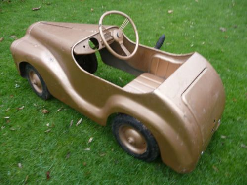 Extremely Rare Barn Find 1950s Tri Ang Centurion Pedal Car