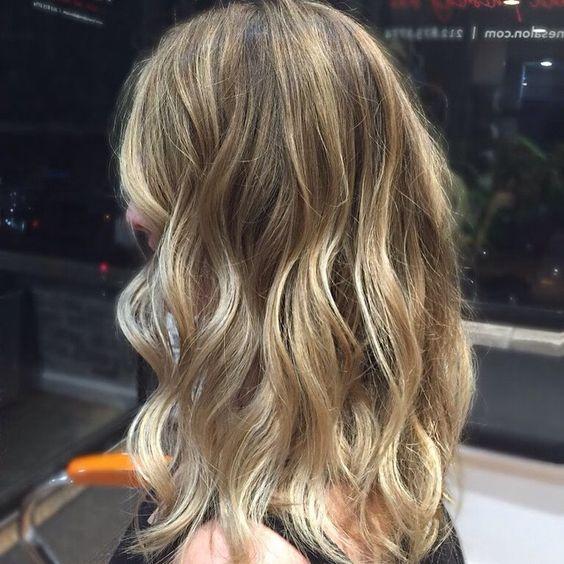 Balayage Ribbons  and Haircut by Kelsey @inspirera #foxandjane