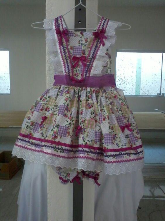 Vestido para festa junina.