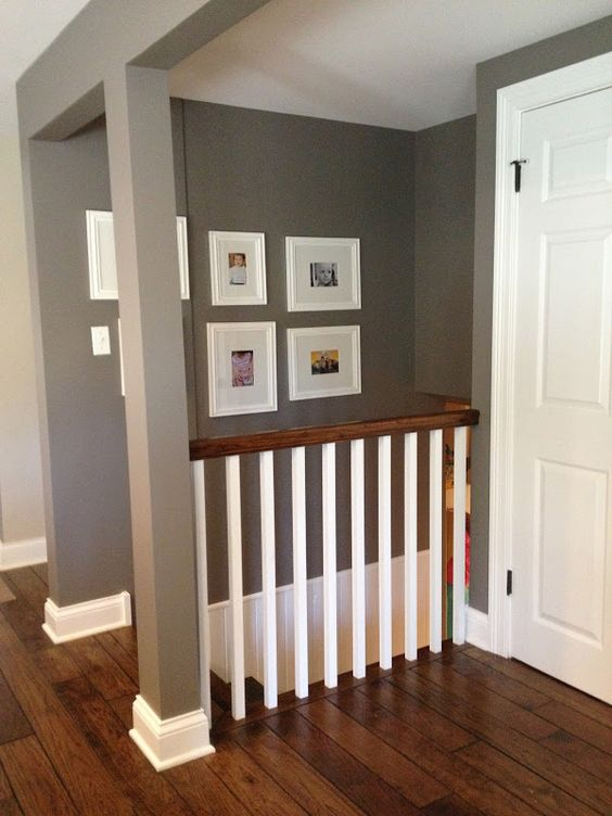 Lighting Basement Washroom Stairs: Remove/open Up Wall Down To Basement?? Love The Idea