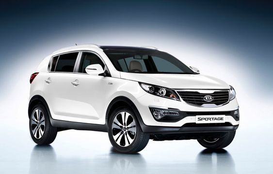 Kia Sportage KX-4 2013.  USAA says it's best value for small SUV