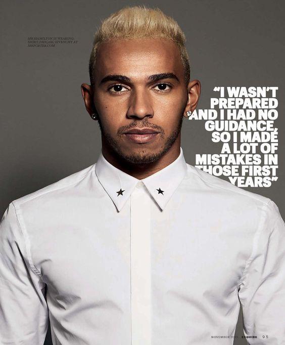 Lewis Hamilton para Esquire Middle East Noviembre 2015 - Male Fashion Trends