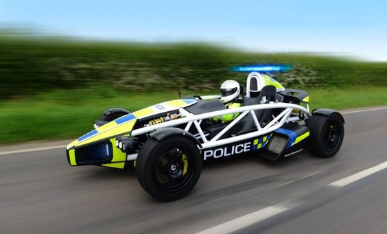 Don't Try And Outrun This Ariel Atom Police Car