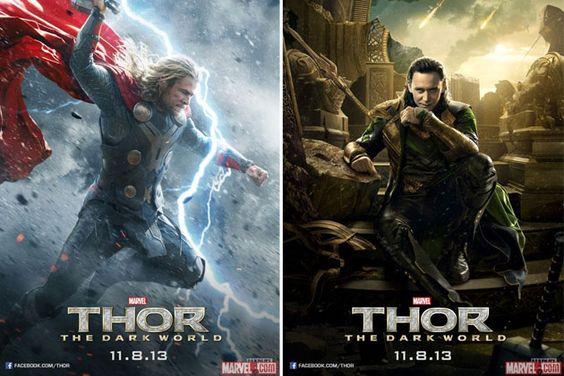 Thor the Dark world movie posters