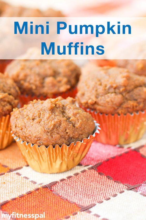 Mini Pumpkin Muffins | Mini Pumpkins, Fall Snacks and Muffins