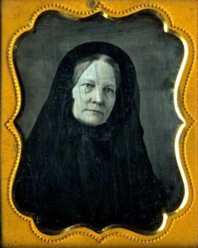 © Ann Longmore-Etheridge Collection Doleful Stare, 1/6th-Plate Daguerreotype, Circa 1854