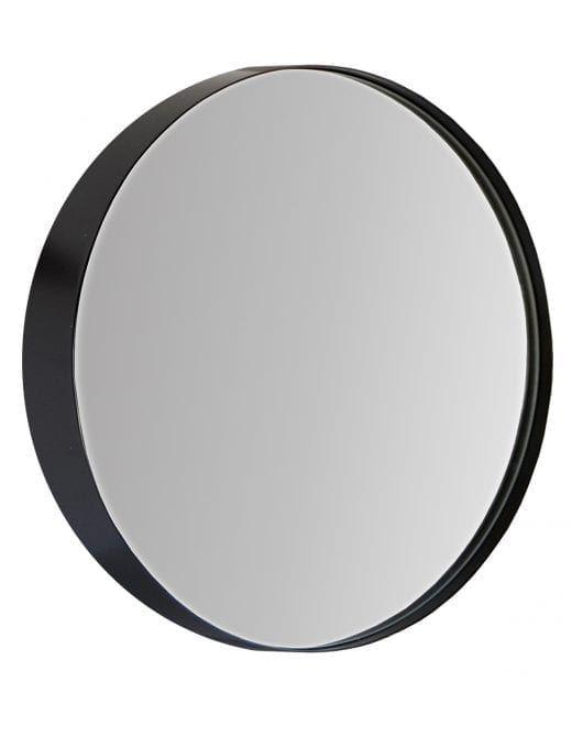 Cheyenne Black Framed Round Mirror With Images Round Mirror