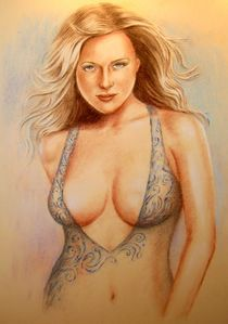 Erotik Traumfrau - Erotic dream woman von Marita Zacharias