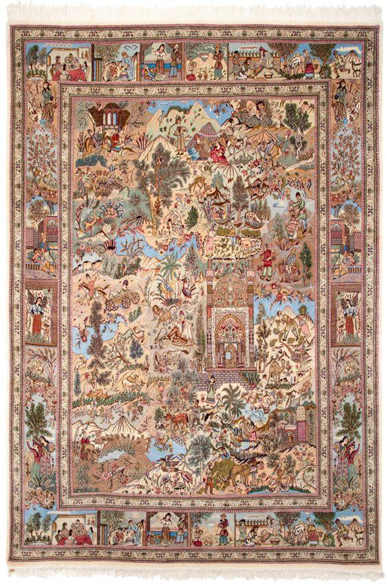 Persian Tabriz Collectable Rug 8x12