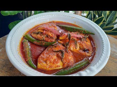 Resepi Asam Pedas Muar Youtube Pedas Fish And Seafood Grilled Fish