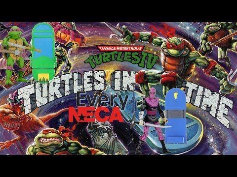 Every Neca Arcade Tmnt Teenage Mutant Ninja Turtles In Time Comparison List Youtube Tmnt Ninja Turtles Teenage Mutant Ninja Turtles