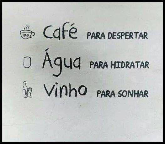 Hummm... vou pelo vinho.: