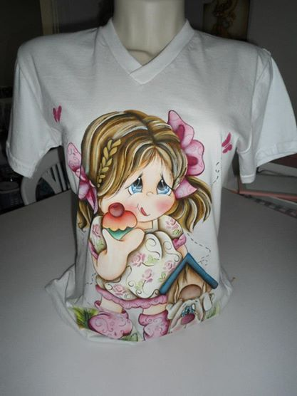Pinterest o cat logo mundial de ideias - Pintura para camisetas ...