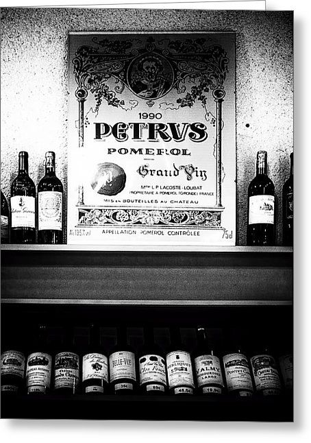 Pomerol Selection Greeting Card by Georgia Fowler
