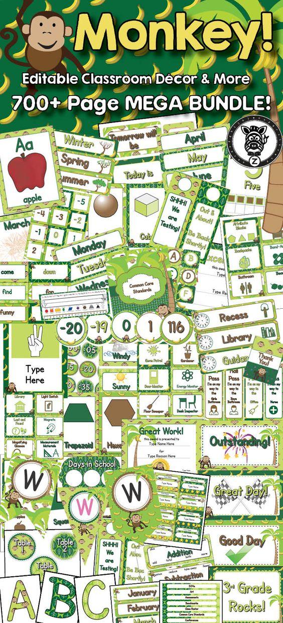 Classroom Decor Bundles ~ Pinterest the world s catalog of ideas